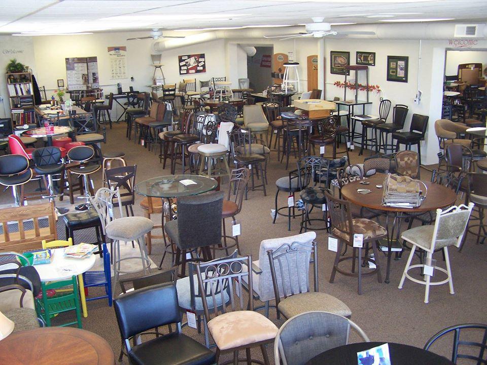Showroom of Bar Stools Direct