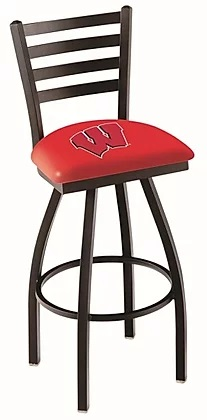 College Stool with Horz Back