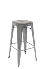 Metal Stool with Handle